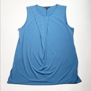 Banana Republic Sleeveless blue blouse